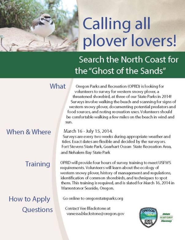 Plover Patrol is Flocking Up!
