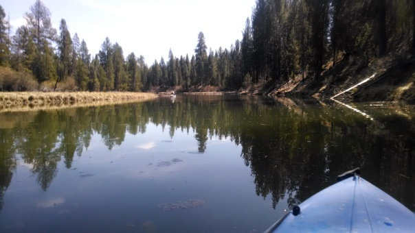 Paddling the Deschutes River - I love my job